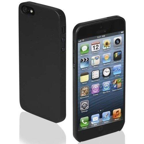 """Чехол для iPhone 5/5S """"Extra Slim"""" черный цена и фото"""