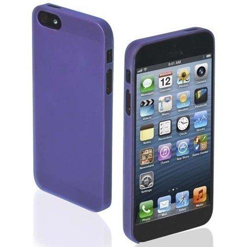 Чехол для iPhone 5/5S Extra Slim фиолетовый чехол для iphone 5 5s зебра
