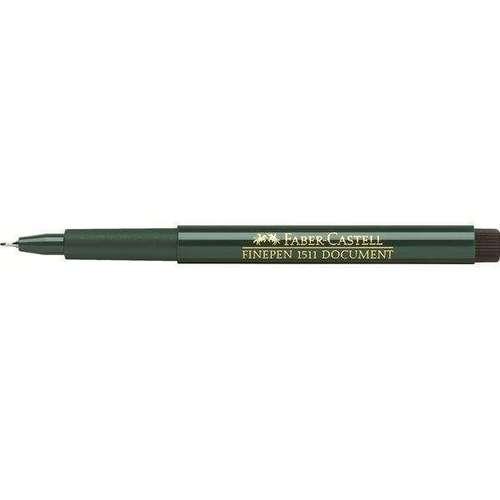 Ручка капиллярная Finepen 1511, 0,5 мм, черная faber castell ручка капиллярная finepen 1511 цвет чернил черный