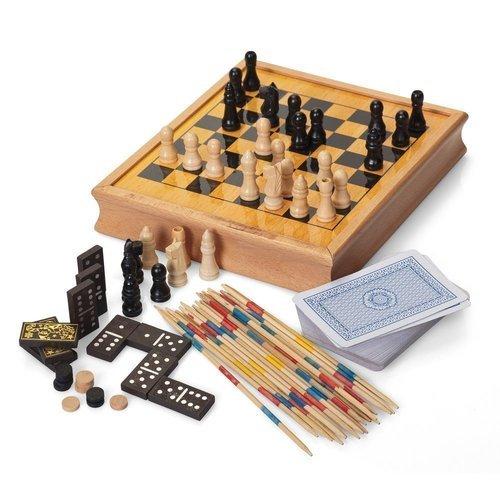 Набор настольных игр Compendium набор настольных игр madon шахматы шашки кинг 34