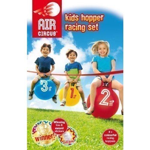 Набор надувных мячей Kids Hopper Racing набор мячей детских 1 toy смайлик