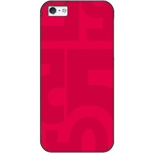 Чехол для iPhone 5/5S красный запчасти iphone 5s