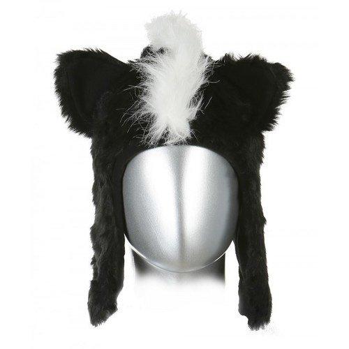 Шапка Скунс черная шапка 2k sport nordic цвет черный светло серый белый 124024 размер 58 60