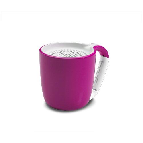 Портативный беспроводной аудио динамик Espresso Pink розовый dynaudio музыка 3 bluetooth wifi беспроводной аудио мини портативный динамик телефона airnight midnight blue a