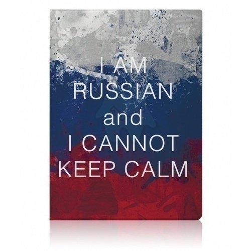 "Обложка для паспорта ""Keep Calm"" цена и фото"