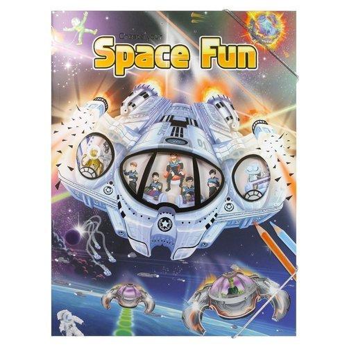 Альбом с наклейками Space Fun альбом с наклейками 1 попугай
