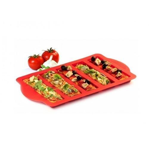 Форма для мини-пиццы, красная для офиса с доставкой мини пиццы