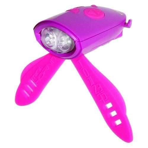 Мини-гудок для велосипеда фиолетово-розовый