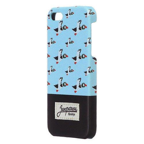 """Чехол """"Дичь 86"""" для iPhone 6 голубой"""