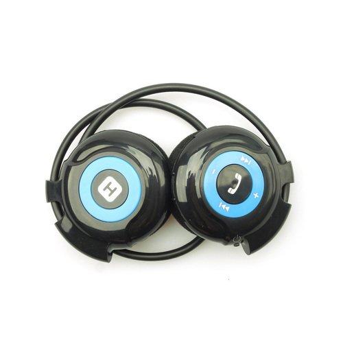 Наушники HB-100, Black / Blue наушники bluetooth 3 0 bluetooth bluetooth iphone lg samsung htc ye 106s bluetooth 3 0 new smallest bluetooth headset
