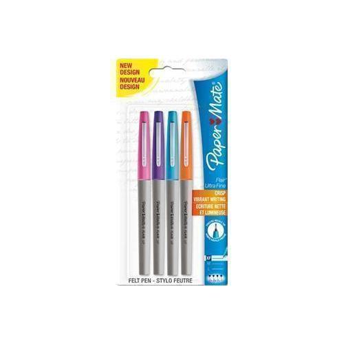 Набор капиллярных ручек Flair UF, 4 шт. touch набор капиллярных ручек liner цвет чернил черный 7 шт