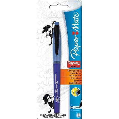 """Шариковая ручка со стираемыми чернилами """"Replay Max"""" синяя 1,0"""