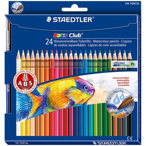 Карандаши акварельные Noris Club, 24 цвета