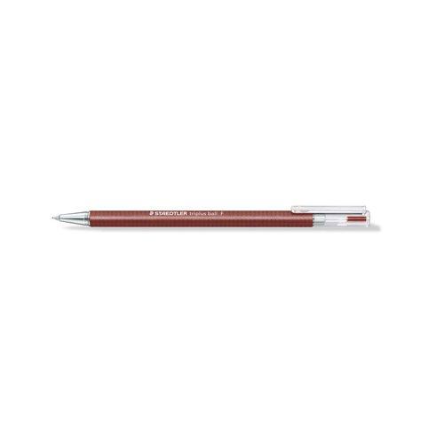 Ручка шариковая Triplus Ball, красная, 0,3 мм шариковая ручка triplus ball черная 0 3 f