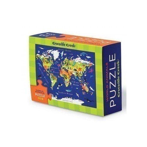 Пазл World Map, 100 элементов