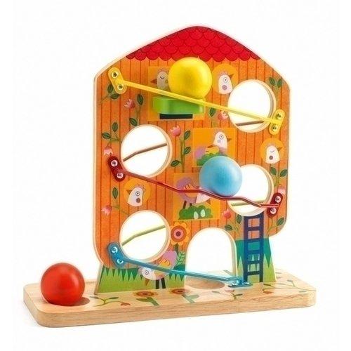 Купить Кугельбан Птичий дом , Djeco, Развлекательные и развивающие игрушки