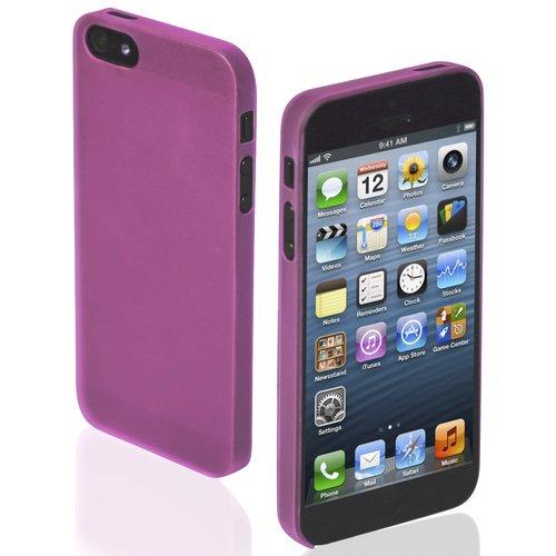 Чехол для iPhone 5/5S Extra Slim розовый чехол для айфона 5 5s лиса и ворона