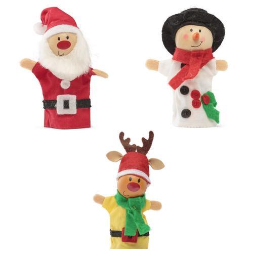 """Куклы на пальцы """"Christmas"""""""