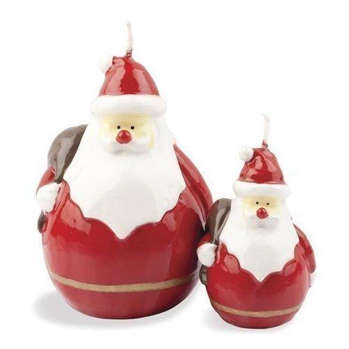 Свеча Санта свеча светодиодная vegas классика 3 8 х 4 см свет янтарный 2 шт 55047
