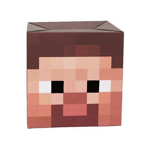 Фото - Маска-голова Minecraft Steve Head minecraft фигурка minecraft steve with