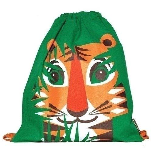 Фото - Вещмешок детский Tiger зеленый детский