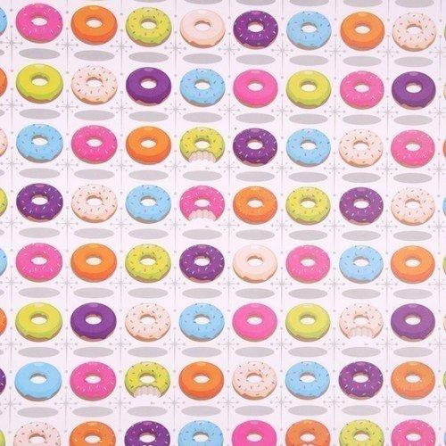 Упаковочная бумага Donuts, 50 х 70 см упаковочная бумага good use 50 х 70 см