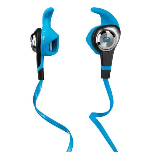 "Наушники с микрофоном ""iSport Strive Blue In-Ear Headphones"" monster isport strive blue"