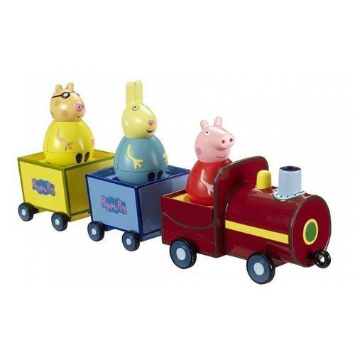 Купить Набор Поезд Пеппы-неваляшки с фигуркой , Peppa Pig, Игрушки для малышей