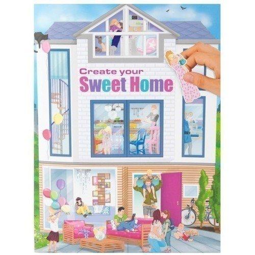 Альбом с наклейками Create Your Sweet Home альбом с наклейками 1 попугай