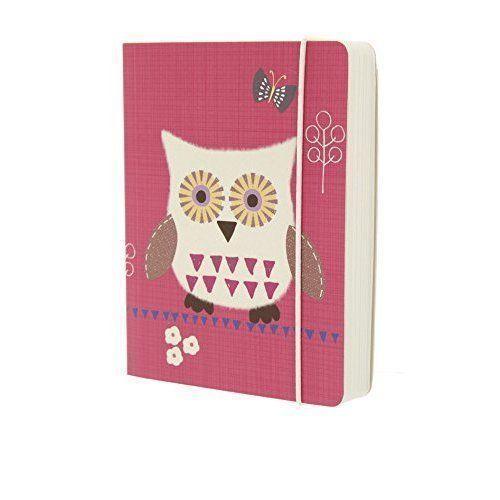 """Блокнот в линейку """"Owls"""" А6 розовый owls 1997 calendar"""
