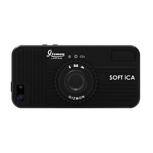 Чехол Soft iCA для iPhone 5/5S черный чехол soft ica для iphone 5 5s оранжевый