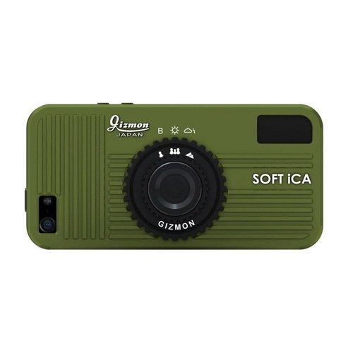 Чехол Soft iCA для iPhone 5/5S зеленый чехол soft ica для iphone 5 5s оранжевый