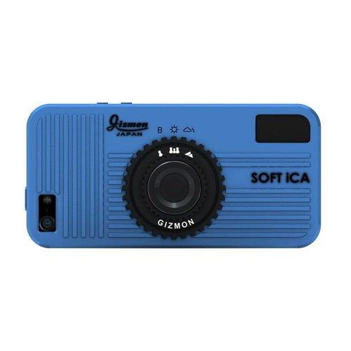 Чехол Soft iCA для iPhone 5/5S голубой