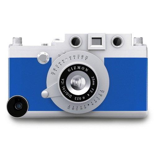 Кейс iCA5 для iPhone 5/5S голубой kenko gizmon ica5 079591