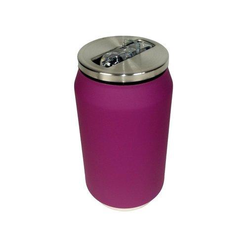 Термобанка Soft Touch, 280 мл, фиолетовая термобанка soft touch 280 мл розовая