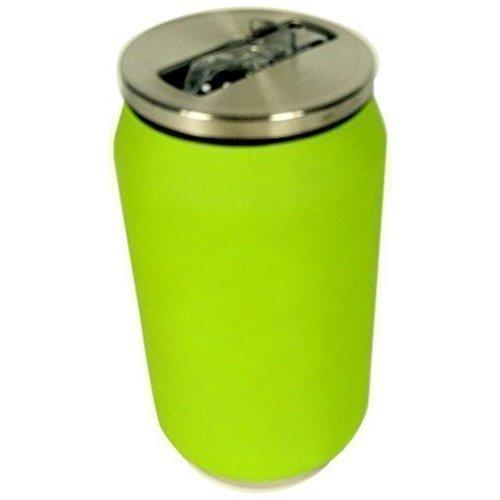 Термобанка Soft Touch, 280 мл, зеленая термобанка soft touch 280 мл розовая