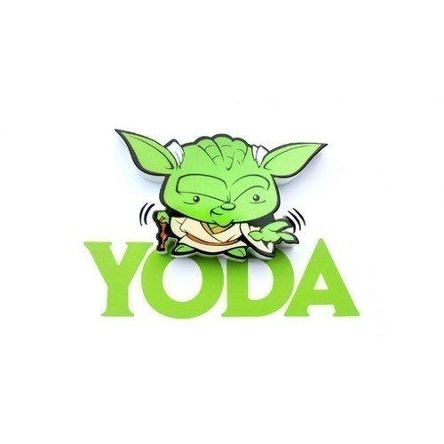 Пробивной мини 3D-светильник StarWars Yoda 3d светильник starwars