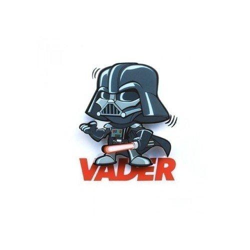 Пробивной мини 3D-светильник StarWars Darth Vader 3d светильник starwars