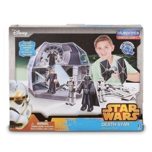 Купить Конструктор бумажный Star Wars Blueprints Classic Deathstar Deluxe Pack , Jazwares, Конструкторы