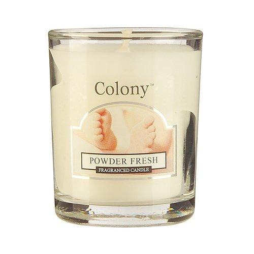 Свеча ароматическая лампадная Свежая пудра свеча ароматическая лампадная wax lyrical альпийский лес 16 часов горения