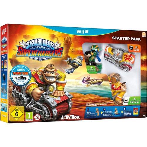 """Игра Wii U на диске """"Skylanders SuperChargers"""" с фигурками"""