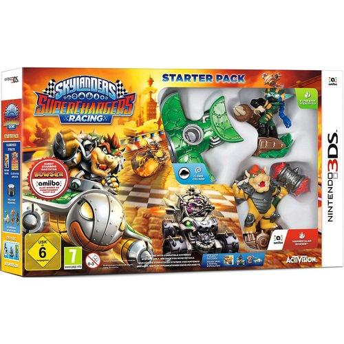 """цена Игра 3DS на картридже """"Skylanders SuperChargers"""" с фигурками"""