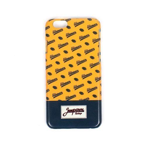 """Чехол """"Шишки"""" для iPhone 6/6S оранжевый стоимость"""