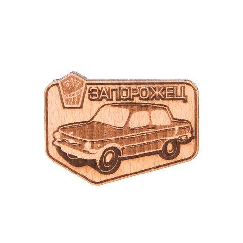 Значок Машинка сувенир ohmypeter значок деревянный цветной peter hi в блистере omp40081
