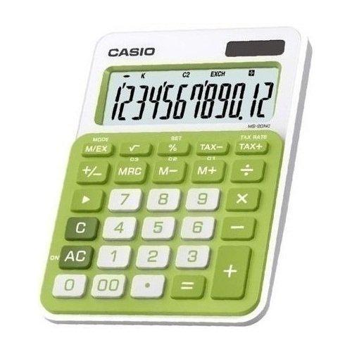Калькулятор MS-20NC-GN зеленый