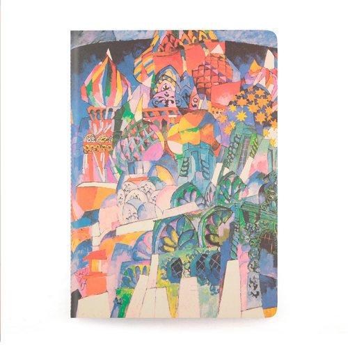 Тетрадь Лентулов А. В. Храм Василия Блаженного А6, в точку алмазная вышивка храм василия блаженного 44x54см