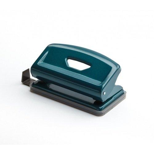 """Дырокол на 2 отверстия """"F Mini"""", 6 мм, зелёный"""