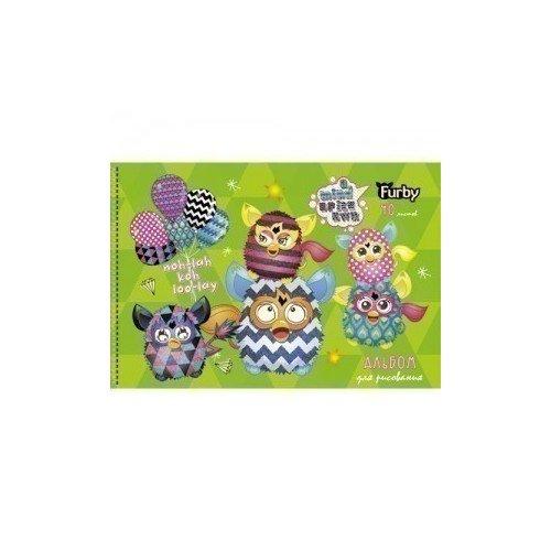Альбом для рисования Furby. Вечеринка цена