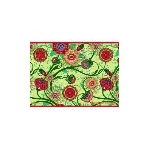"""Альбом для рисования """"Цветочное плетение"""" принадлежности для рисования спейс альбом для рисования мультяшки 20 листов"""