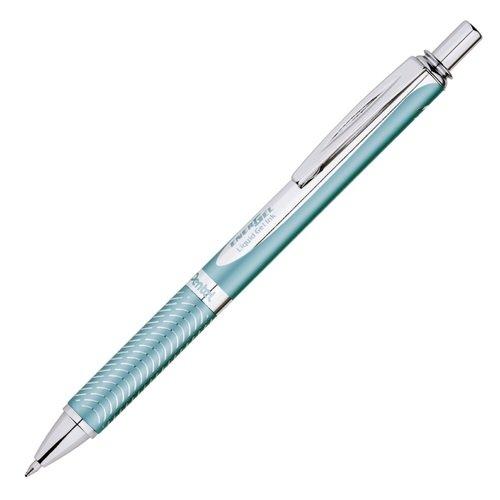 Гелевая ручка Energel Sterling, 0,7 мм, аквамарин еж стайл ручка гелевая океания конек цвет чернил черный